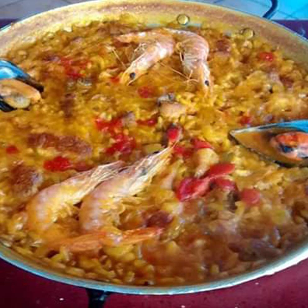 53-Paella valenciana