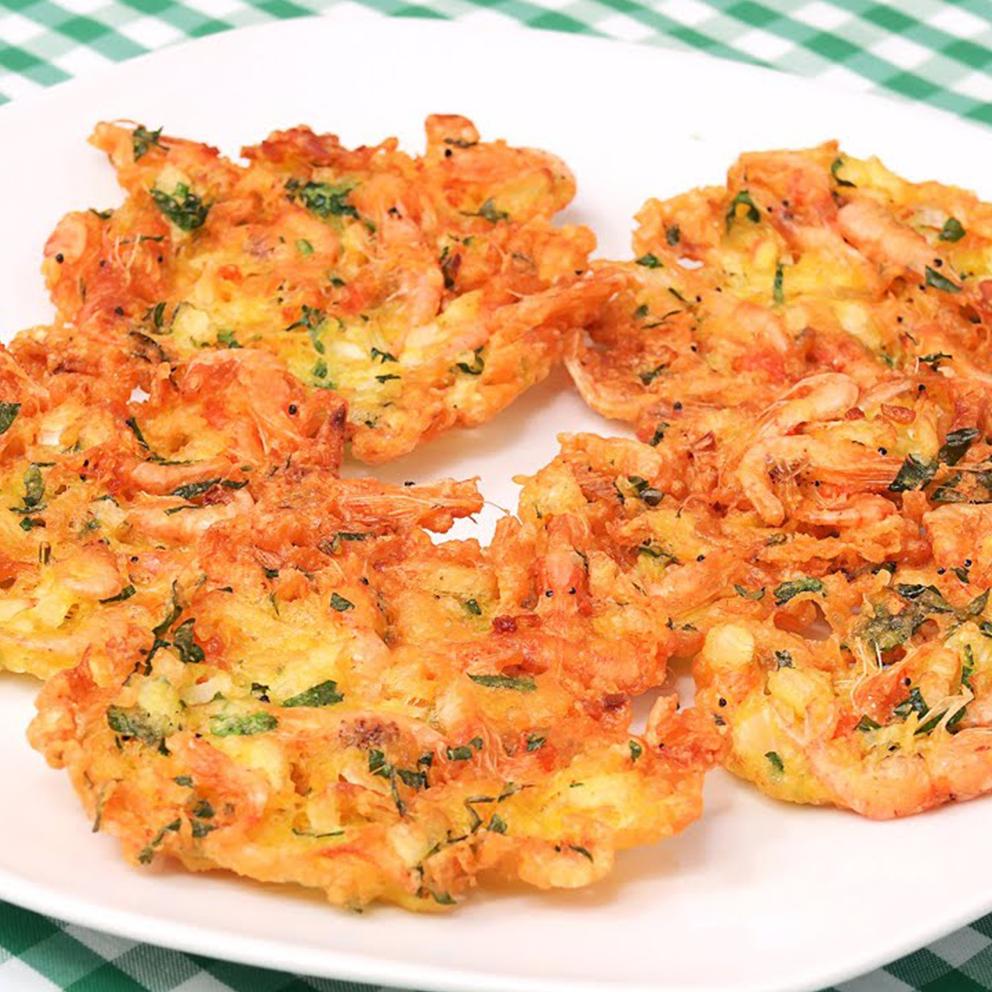 59-Tortilla de camarones