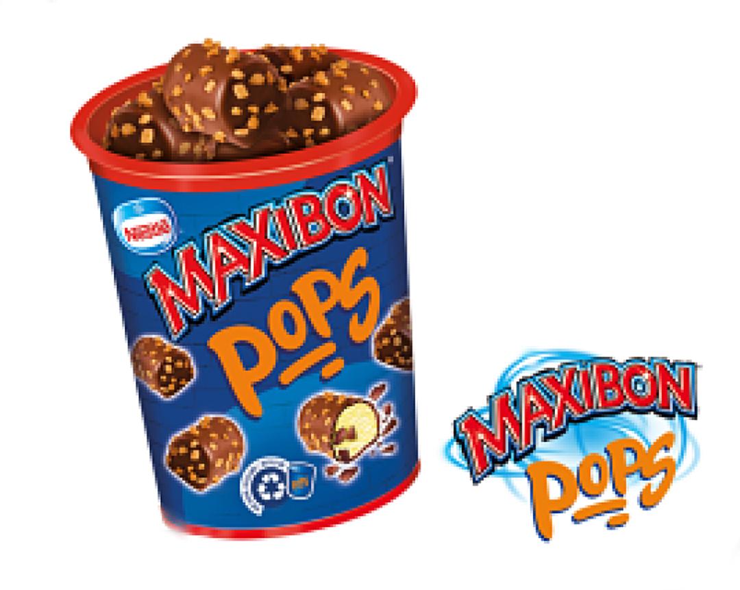 Maxibon pops crunch